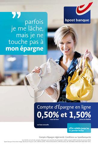Campagne pub Bpost banque