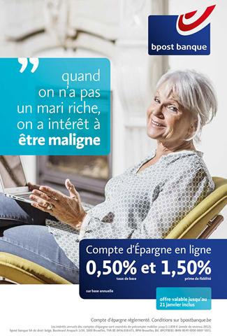 Campagne Bpost banque par Nextage