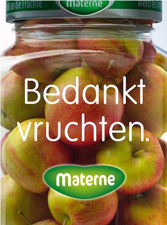 bedankt vruchten pommes